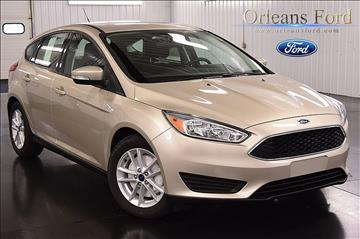 2017 Ford Focus for sale in Medina, NY
