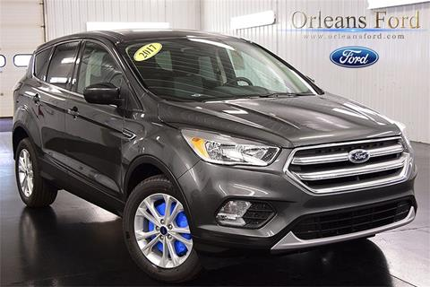 2017 Ford Escape for sale in Medina, NY