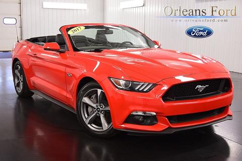 2017 Ford Mustang for sale in Medina, NY