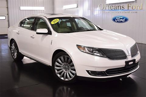 2014 Lincoln MKS for sale in Medina, NY