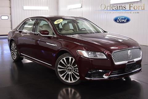 2017 Lincoln Continental for sale in Medina, NY
