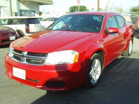 2012 Dodge Avenger SXT for sale at Chase Auto Sale Inc in Modesto CA