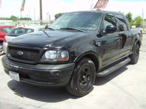 2001 Ford F-150 Harley-Davidson for sale at Chase Auto Sale Inc in Modesto CA