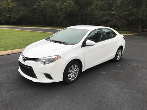 2015 Toyota Corolla for sale in Somerville, TN