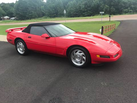 1996 Chevrolet Corvette for sale at Rickman Motor Company in Somerville TN