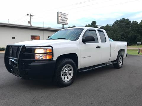 2011 Chevrolet Silverado 1500 for sale at Rickman Motor Company in Somerville TN