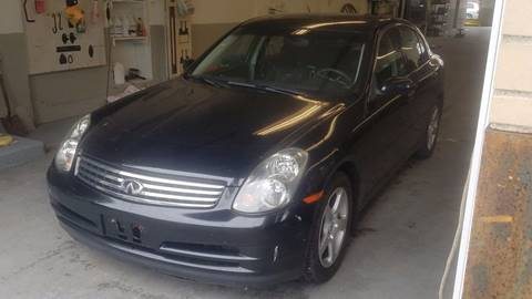 2004 Infiniti G35 for sale in Cumberland RI