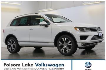 2017 Volkswagen Touareg for sale in Folsom, CA