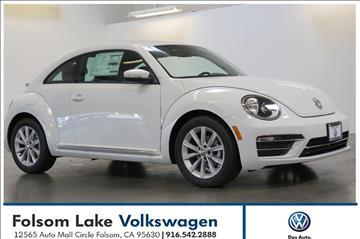 2017 Volkswagen Beetle for sale in Folsom, CA