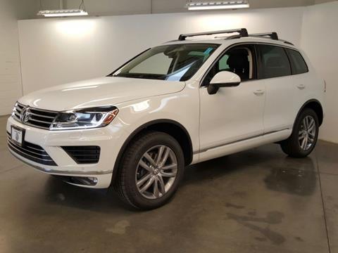 2016 Volkswagen Touareg for sale in Folsom, CA