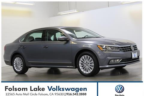 2017 Volkswagen Passat for sale in Folsom, CA