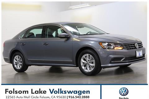 2017 Volkswagen Passat for sale in Folsom, CA