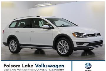 2017 Volkswagen Golf Alltrack for sale in Folsom, CA