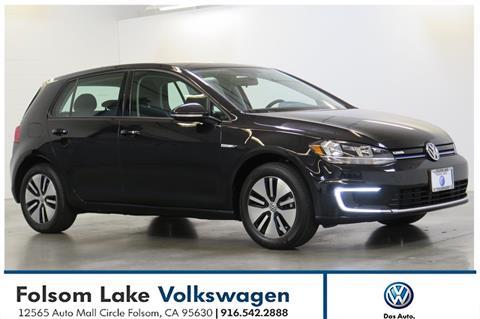 2017 Volkswagen e-Golf for sale in Folsom, CA