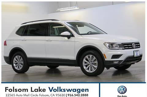 2018 Volkswagen Tiguan for sale in Folsom, CA