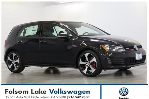 2017 Volkswagen Golf GTI for sale in Folsom, CA