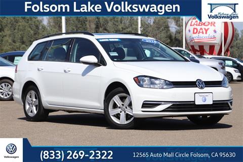 2018 Volkswagen Golf SportWagen for sale in Folsom, CA