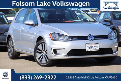 2016 Volkswagen e-Golf for sale in Folsom, CA