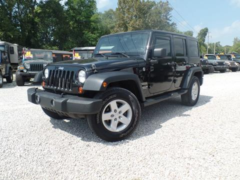 2012 Jeep Wrangler Unlimited for sale in Carroll, OH