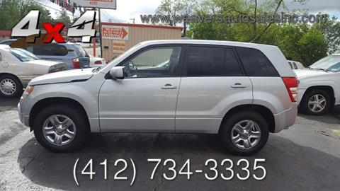 2009 Suzuki Grand Vitara for sale in Pittsburgh, PA