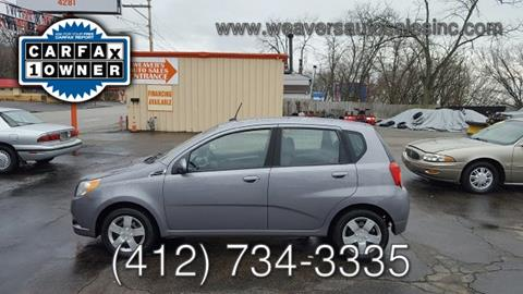 2010 Chevrolet Aveo for sale in Pittsburgh, PA