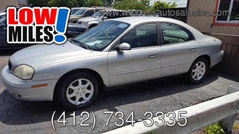 2001 Mercury Sable for sale in Pittsburgh, PA