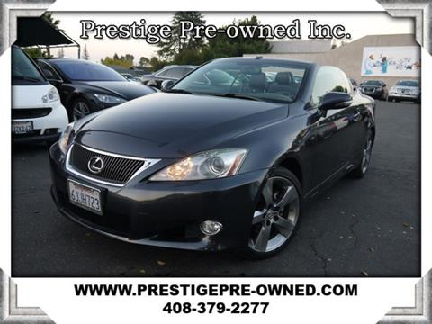 2010 Lexus IS 250C for sale in Campbell, CA