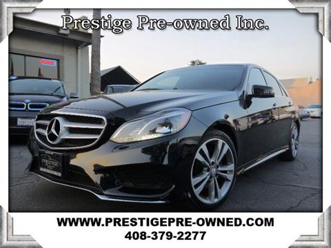2014 Mercedes-Benz E-Class for sale in Campbell, CA