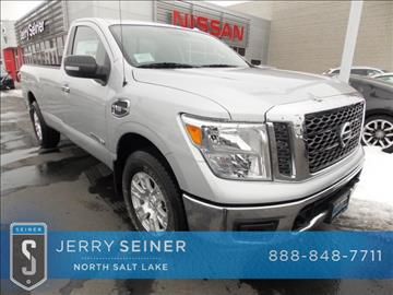 2017 Nissan Titan for sale in North Salt Lake, UT