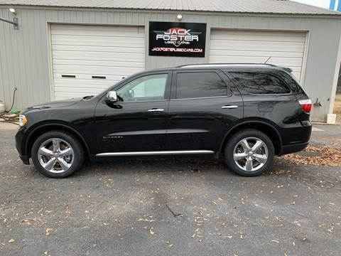 2013 Dodge Durango for sale at Jack Foster Used Cars LLC in Honea Path SC