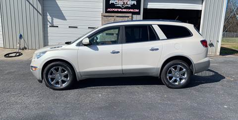 2010 Buick Enclave for sale at Jack Foster Used Cars LLC in Honea Path SC