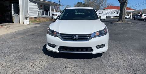 2013 Honda Accord for sale at Jack Foster Used Cars LLC in Honea Path SC
