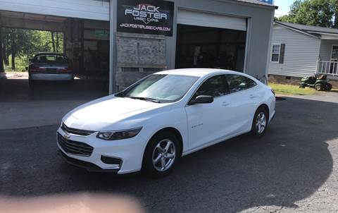 2018 Chevrolet Malibu for sale at Jack Foster Used Cars LLC in Honea Path SC