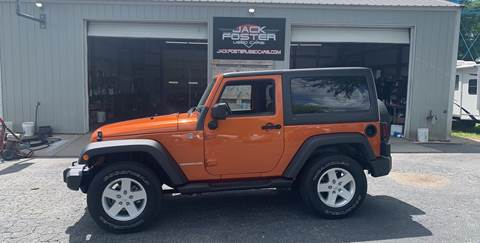 2011 Jeep Wrangler for sale at Jack Foster Used Cars LLC in Honea Path SC