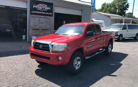 2008 Toyota Tacoma for sale at Jack Foster Used Cars LLC in Honea Path SC