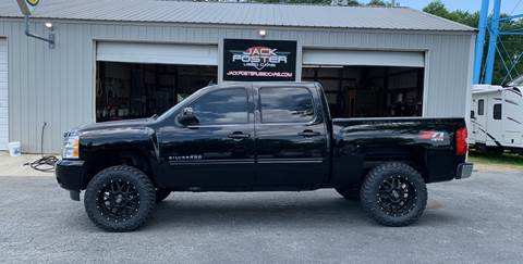 2013 Chevrolet Silverado 1500 for sale at Jack Foster Used Cars LLC in Honea Path SC