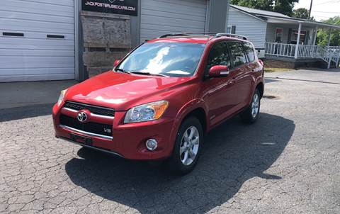 2010 Toyota RAV4 for sale at Jack Foster Used Cars LLC in Honea Path SC