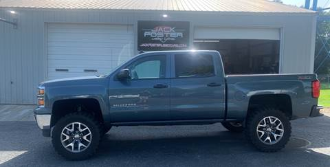 2014 Chevrolet Silverado 1500 for sale at Jack Foster Used Cars LLC in Honea Path SC