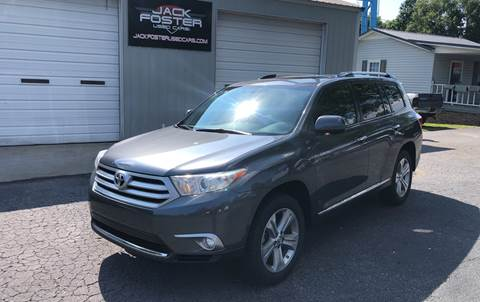 2012 Toyota Highlander for sale at Jack Foster Used Cars LLC in Honea Path SC