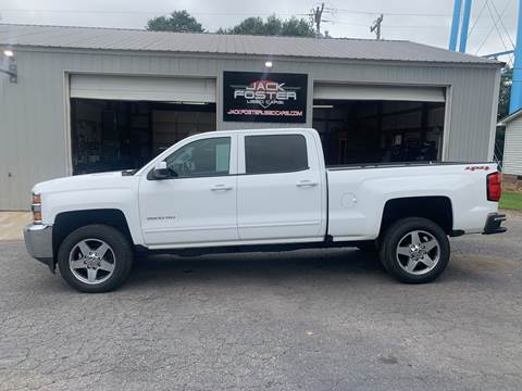 2016 Chevrolet Silverado 2500HD for sale at Jack Foster Used Cars LLC in Honea Path SC