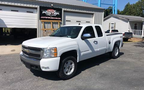 2007 Chevrolet Silverado 1500 for sale at Jack Foster Used Cars LLC in Honea Path SC