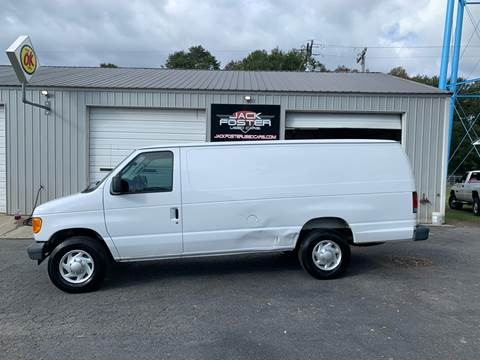 2007 Ford E-Series Cargo for sale at Jack Foster Used Cars LLC in Honea Path SC