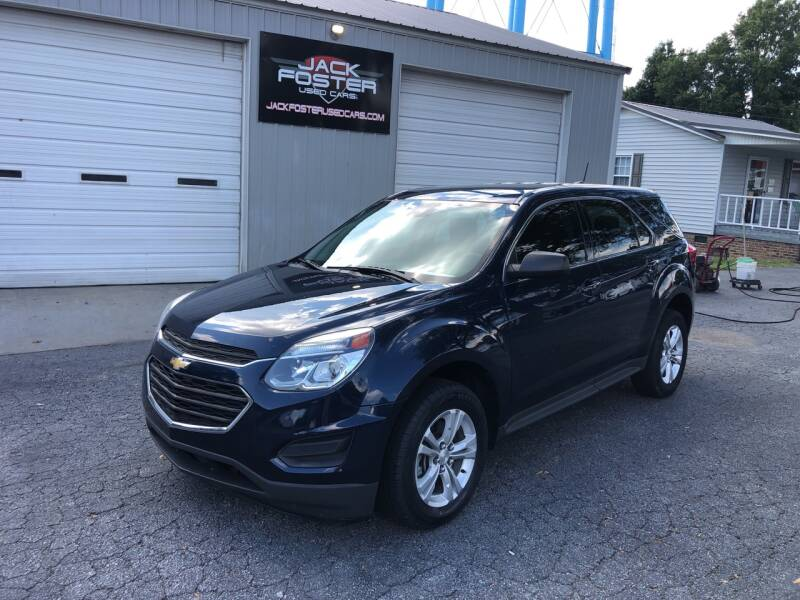 2016 Chevrolet Equinox for sale at Jack Foster Used Cars LLC in Honea Path SC