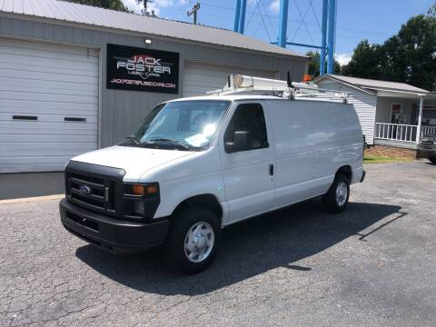 2012 Ford E-Series Cargo for sale at Jack Foster Used Cars LLC in Honea Path SC