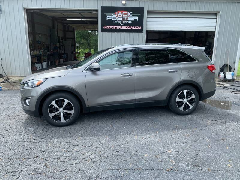 2016 Kia Sorento for sale at Jack Foster Used Cars LLC in Honea Path SC