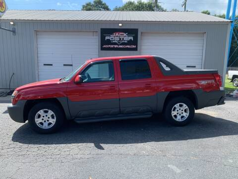 2002 Chevrolet Avalanche for sale at Jack Foster Used Cars LLC in Honea Path SC