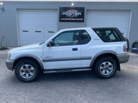 2001 Isuzu Rodeo Sport for sale at Jack Foster Used Cars LLC in Honea Path SC