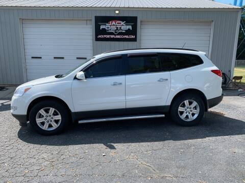 2012 Chevrolet Traverse for sale at Jack Foster Used Cars LLC in Honea Path SC