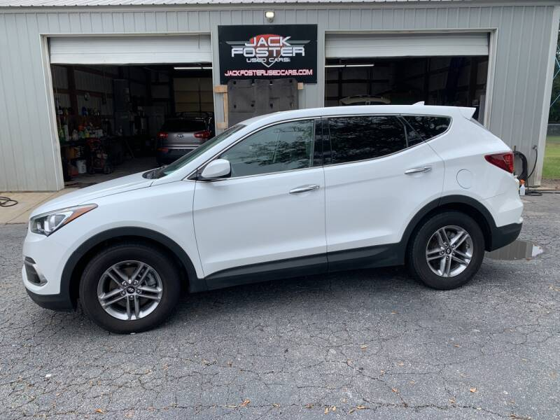 2017 Hyundai Santa Fe Sport for sale at Jack Foster Used Cars LLC in Honea Path SC