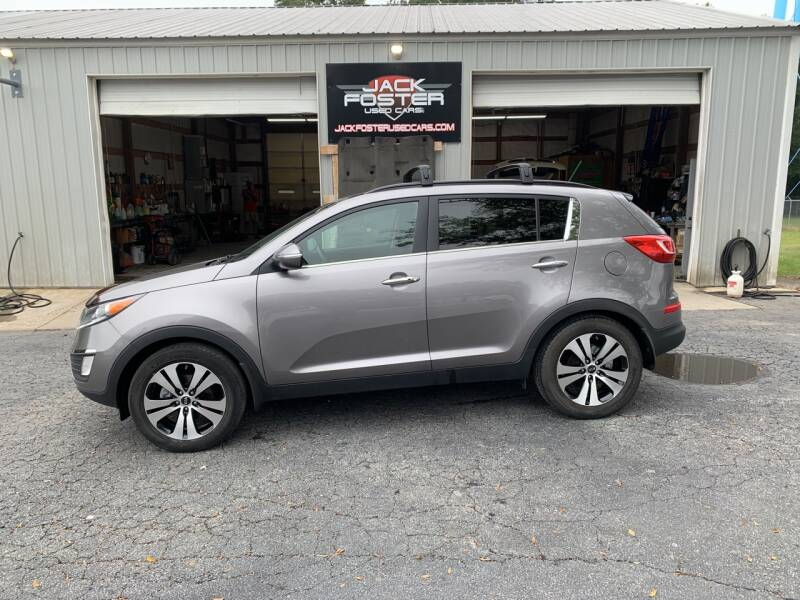 2012 Kia Sportage for sale at Jack Foster Used Cars LLC in Honea Path SC